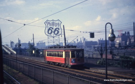 CTA 229 on the Museum Loop at the east end of the Roosevelt Road car line.