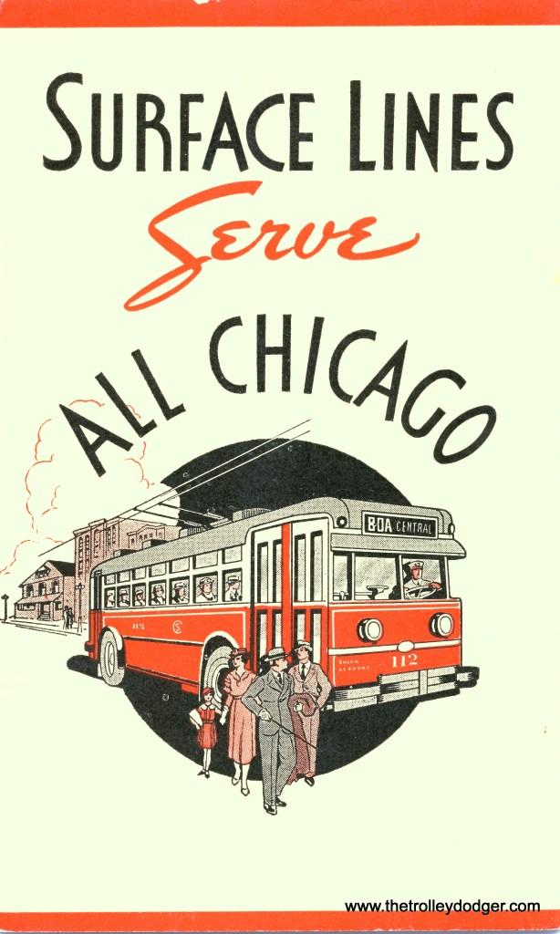 A CSL trolley coach, from a 1935 brochure.