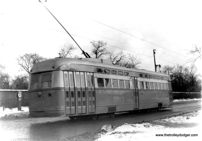 4144 southbound on Clark near Irving Park. (Edward Frank, Jr. Photo)