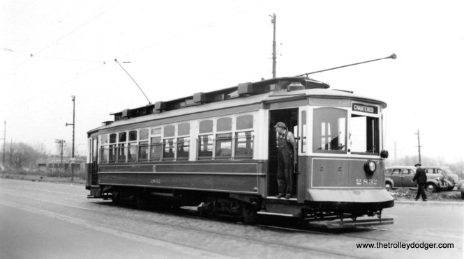 CSL 2832 signed for a charter. From the autos, it would appear this picture was taken in the 1940s.