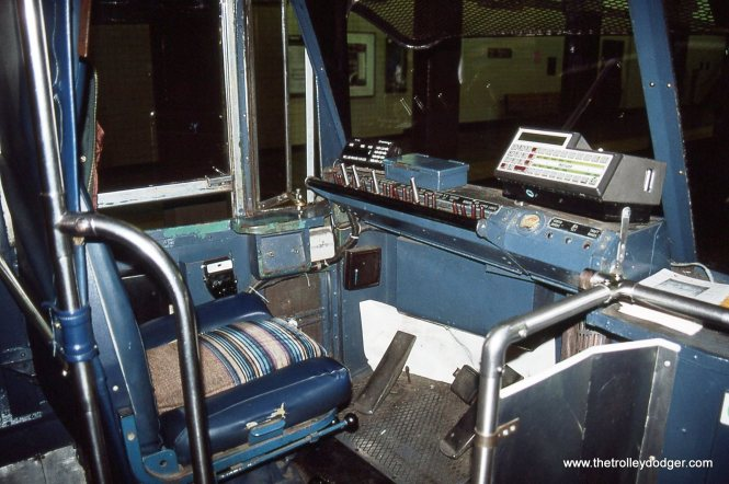 Operator's controls of PCC No. 1