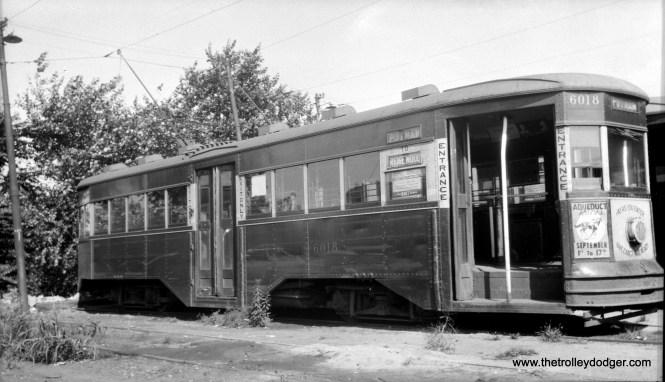 Brooklyn & Queens Transit 6018 at Fresh Pond depot.