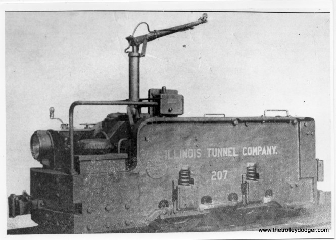 A builder's photo of freight loco 207, renumbered to 501 before delivery, built by Baldwin-Westinghouse in 1907. Weight: 5 1/2 tons.