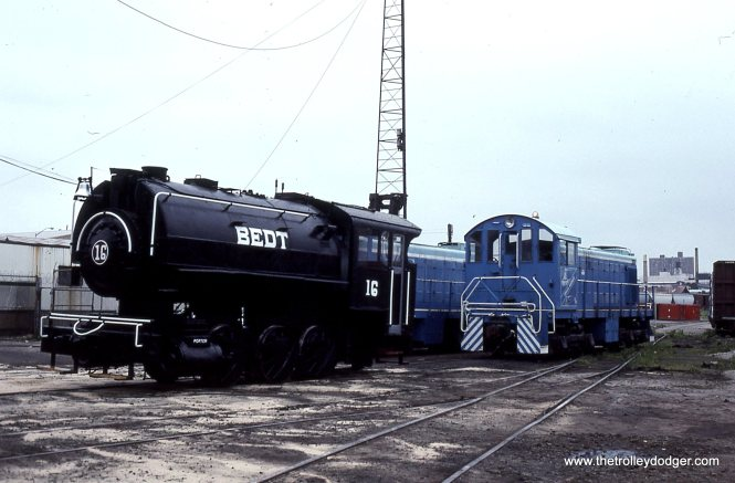 BEDT 0-6-0T 16 NYCH S-1 25 Bush Term 6-5-93