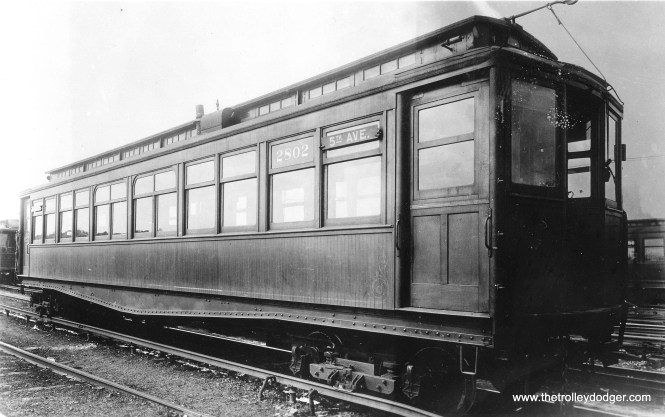 CRT 2802, signed for 5th Avenue, which would date this picture to no later than 1916. (George Trapp Collection)