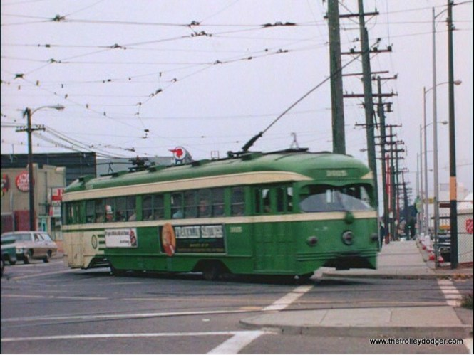 SF Muni double-end PCC 1015.