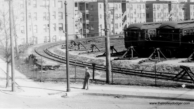 The north end of Howard Yard in CRT days. (George Trapp Collection)