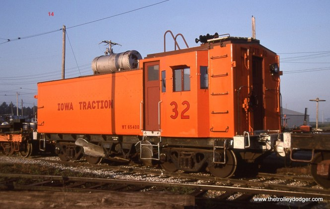 14. Iowa Traction flanger # 32 at Emery, IA
