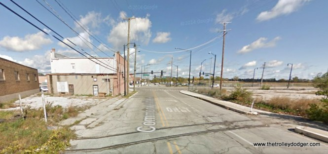 The same location today. We are looking north at about 2225 Commonwealth Avenue in North Chicago, IL. The cross-street, which was 22nd Street, is now Martin Luther King, Jr. Dr.