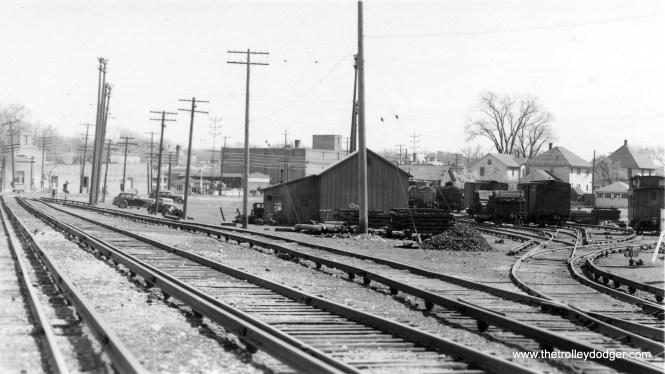 A view of the CA&E Wheaton Yards.