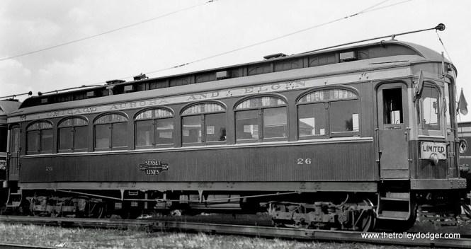 CA&E Car 26.