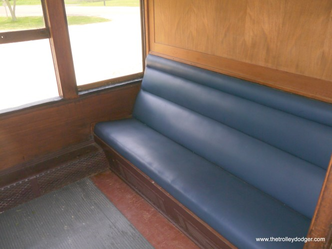 This was originally a smoking compartment.