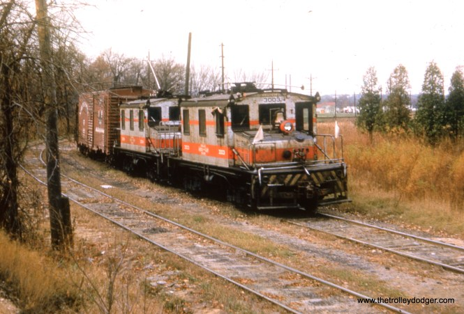 CA&E 3003 and 3004 hauling freight.