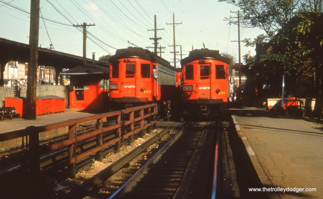 CA&E 422 and 434 at Wheaton station.