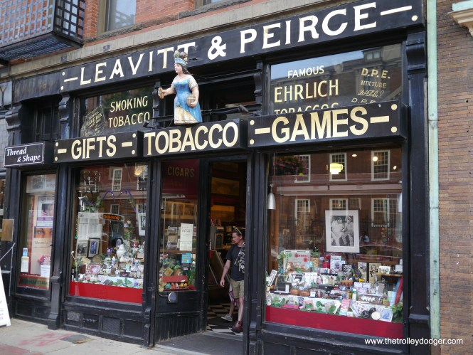 A trip to Harvard Square would not be complete without visiting Leavitt & Peirce, which has been there since 1884.
