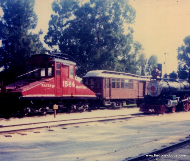 This equipment is at the Travel Town Museum at Griffith Park in Los Angeles on August 26, 1977.