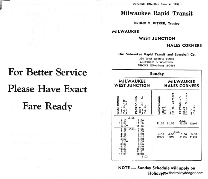 Rapid Transit TT West Jct. 6-4-51