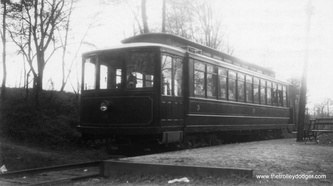 Car 3 on April 13, 1946. (Major G. F. Cunningham Photo)