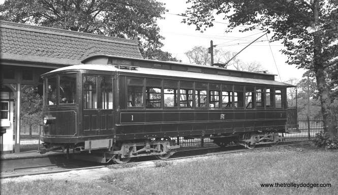 Car 1 on October 13, 1935.