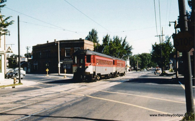 4A NSL 750 & 251 at 5th & Chase in 1955. Don Ross