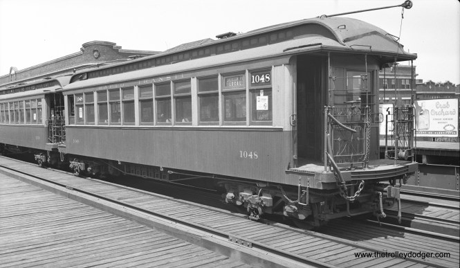 CRT 1048 is a Jackson Park Local on July 21, 1934.
