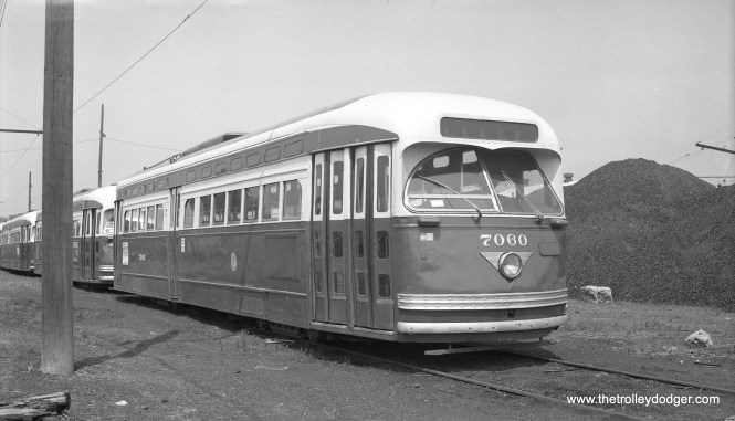 CTA 7060 on June 30, 1955, possibly in dead storage.