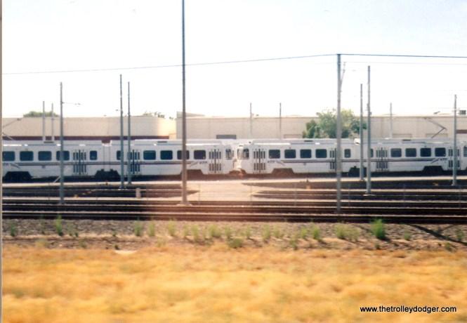 Sacramento RTD at Roseville Yards in 2004.