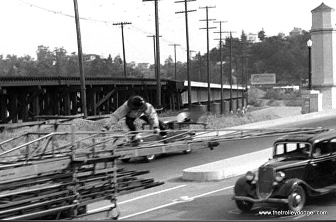 Another section of the Pacific Electric visible in the film.