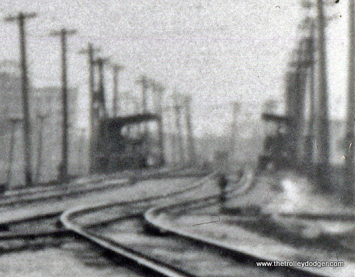 A close-up of the previous image, showing the Calvary station in the distance.