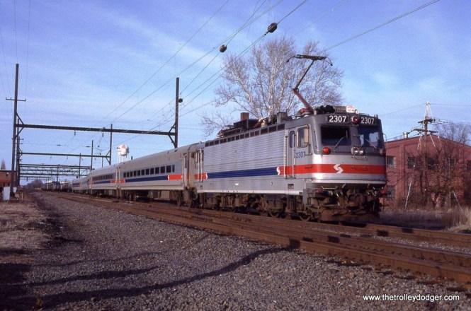 AEM-7 2307 at West Trenton, NJ.