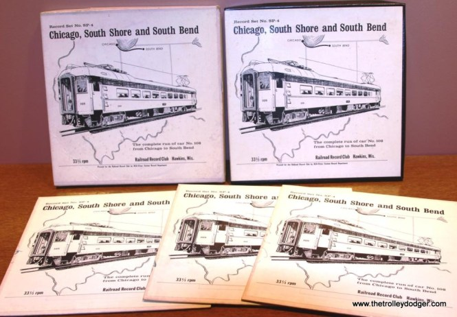 15 Railroad Record Club SP-4 boxes and sleeves