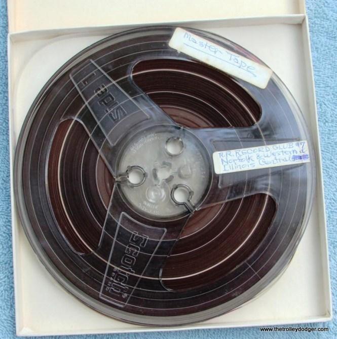 33 master tape Railroad Record Club number 7