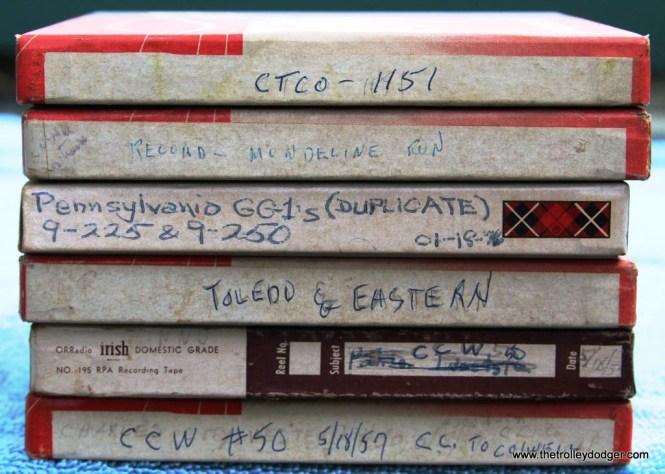 6 Still more intersting tapes
