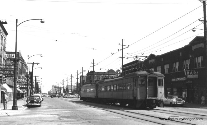#22 in East Chicago, Indiana in 1953. (Richard Brown Photo)