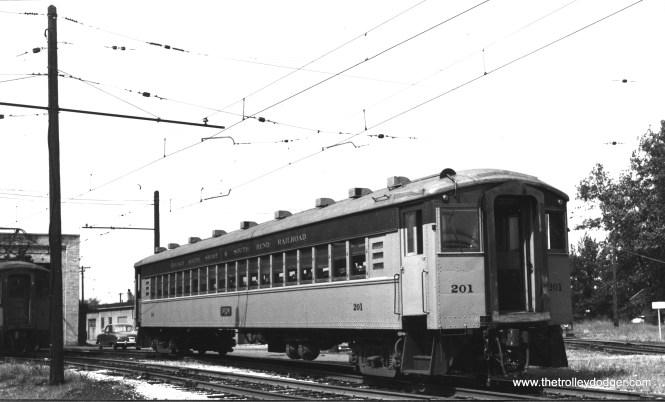 #201 at Michigan City in September 1953. (Richard Brown Photo)