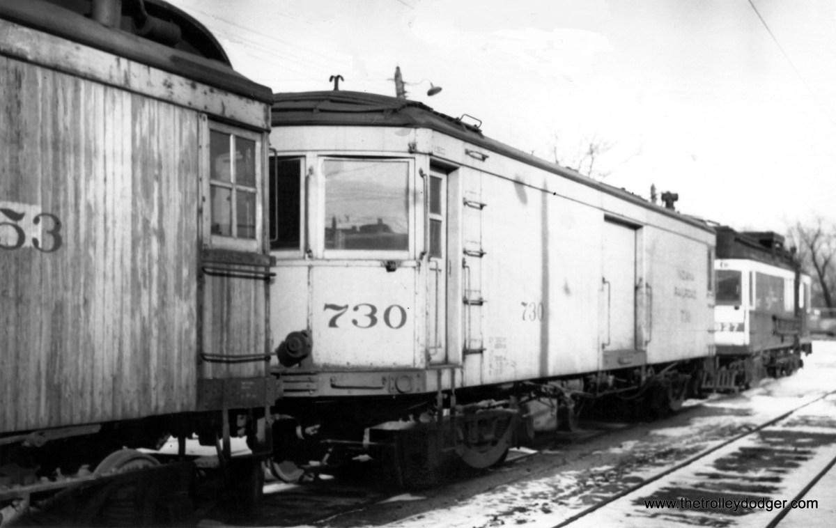 Indiana Railroad car #730.