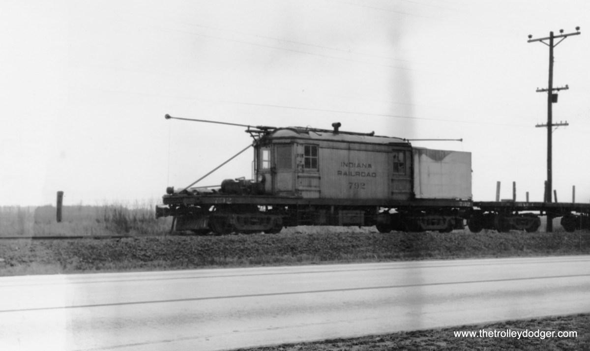 Indiana Railroad loco #792.