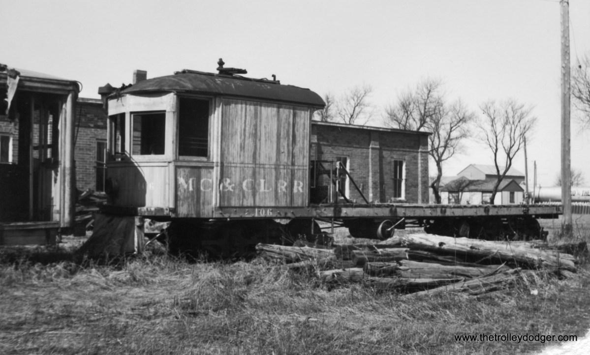 Mason City and Clear Lake car #106.