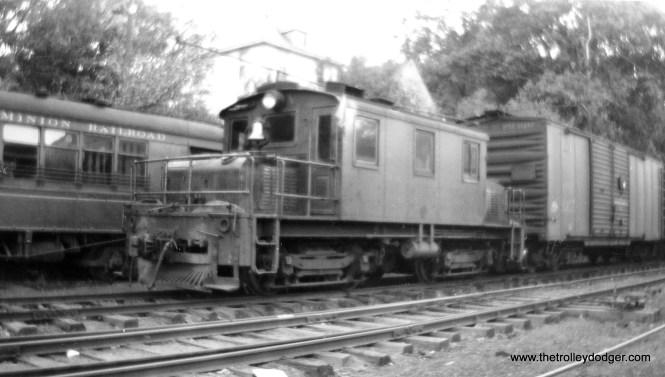 A Washington and Old Dominion locomotive.