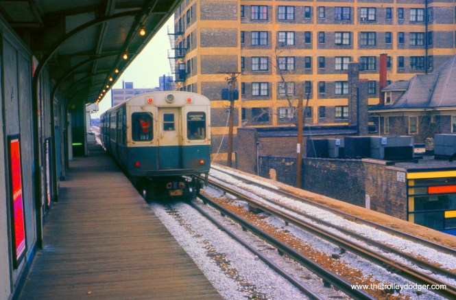 This picture was taken at Granville on the Howard line in May 1971.