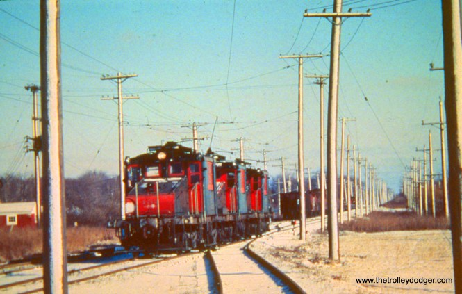 Three NSL locos.