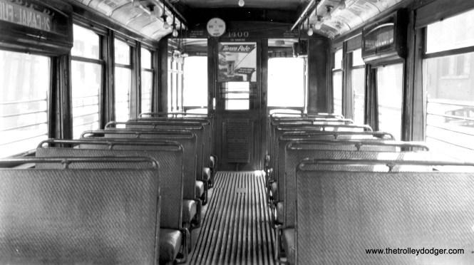 The interior of CSL 1400.