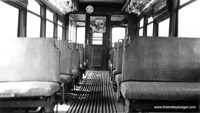 The interior of CSL 1218.