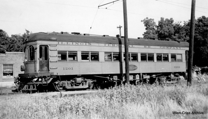 "Don's Rail Photos: ""1201 was built by McGuire-Cummings in 1910 as an express motor with 20 seats at the rear. In 1919 it was rebuilt with a small baggage section at the front and the trucks were changed from Curtis to Baldwin."""