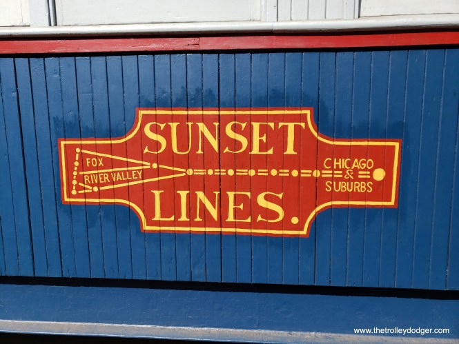 The CA&E was known as the Sunset Lines, due to its generally east-west path. In the afternoon rush hour, the sun would shine on the front of each westbound car.