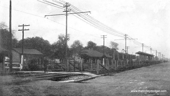 "Although this circa 1905 postcard view is not very clear, this appears to be the Central Avenue station on the ground level portion of the Lake Street ""L"", at a time before the nearby Chicago & North Western elevated its tracks onto an embankment. According to Bill Shapotkin, the C&NW called this station either Austin or ""Boulevard."" Clarification from Bill: ""This image is indeed of the Central St station of the Lake St 'L'. That said, the C&NW station was known as ""Austin,"" NOT ""Boulevard."" As confusing as it is, The ""Austin"" C&NW station was at Central Ave and the ""Boulevard"" station was at Austin Blvd. This threw me for a while as well -- and had to have a old-timer explain it to me."""