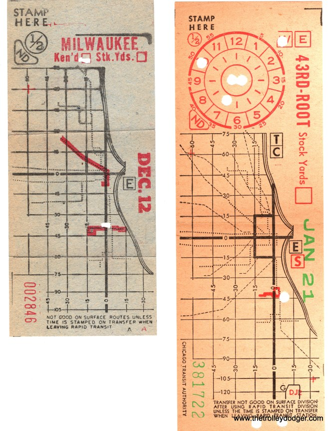 """Transfers from the Kenwood """"L"""" and 43rd Street streetcar line. (Courtesy of Ross Harano)"""