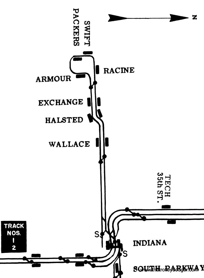 The same goes for this map of the Stock Yards branch.
