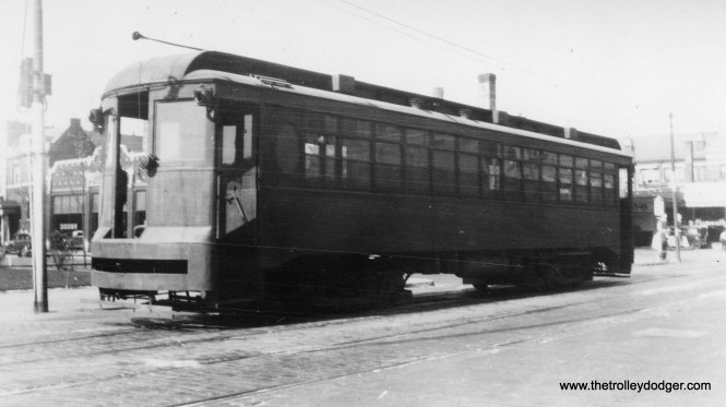 "Cook County #1 was used to transport mental health patients between facilities such as Dunning on Chicago's northwest side. Don's Rail Photos: ""1, hospital car, was built by CSL in 1918. It was retired on September 21, 1939."""