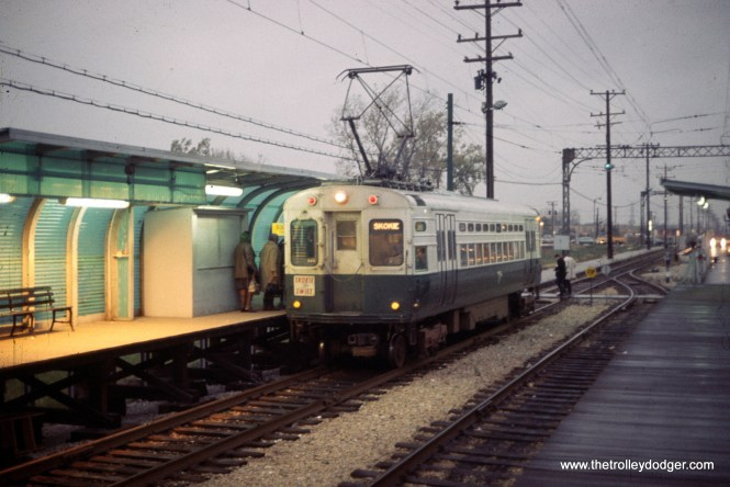 CTA 1-50 series Skokie Swift Dempster Terminal 1-1970.